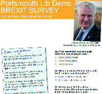 Portsmouth have success with Brexit survey