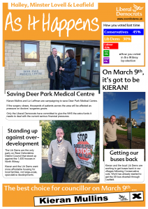 Hailey A3 front page