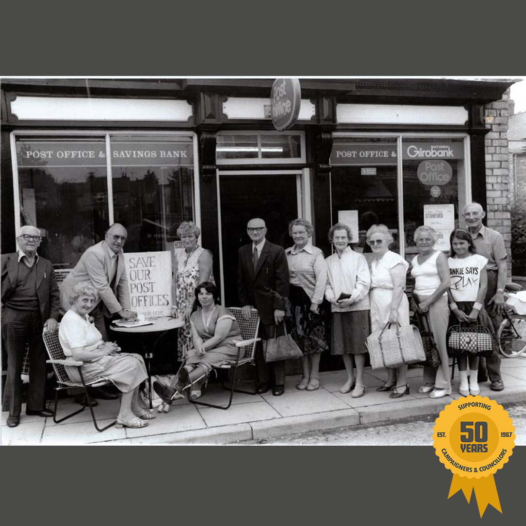 1984: Campaigning to save Post Offices