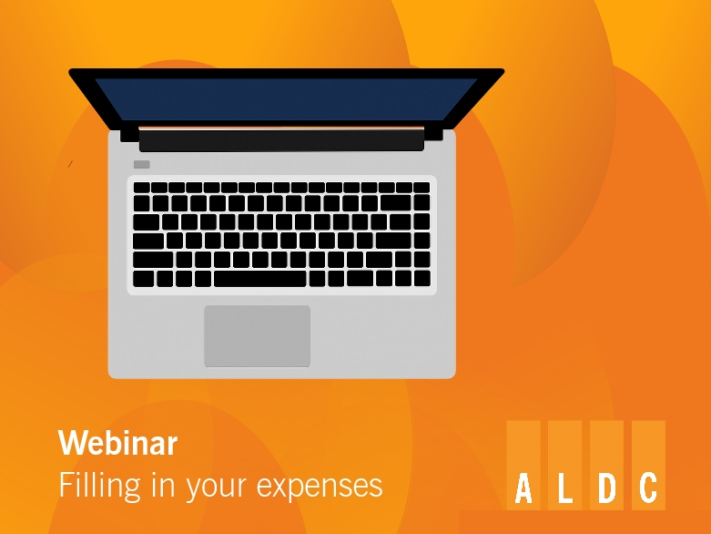 Sign up for our Webinar on filling in your expenses