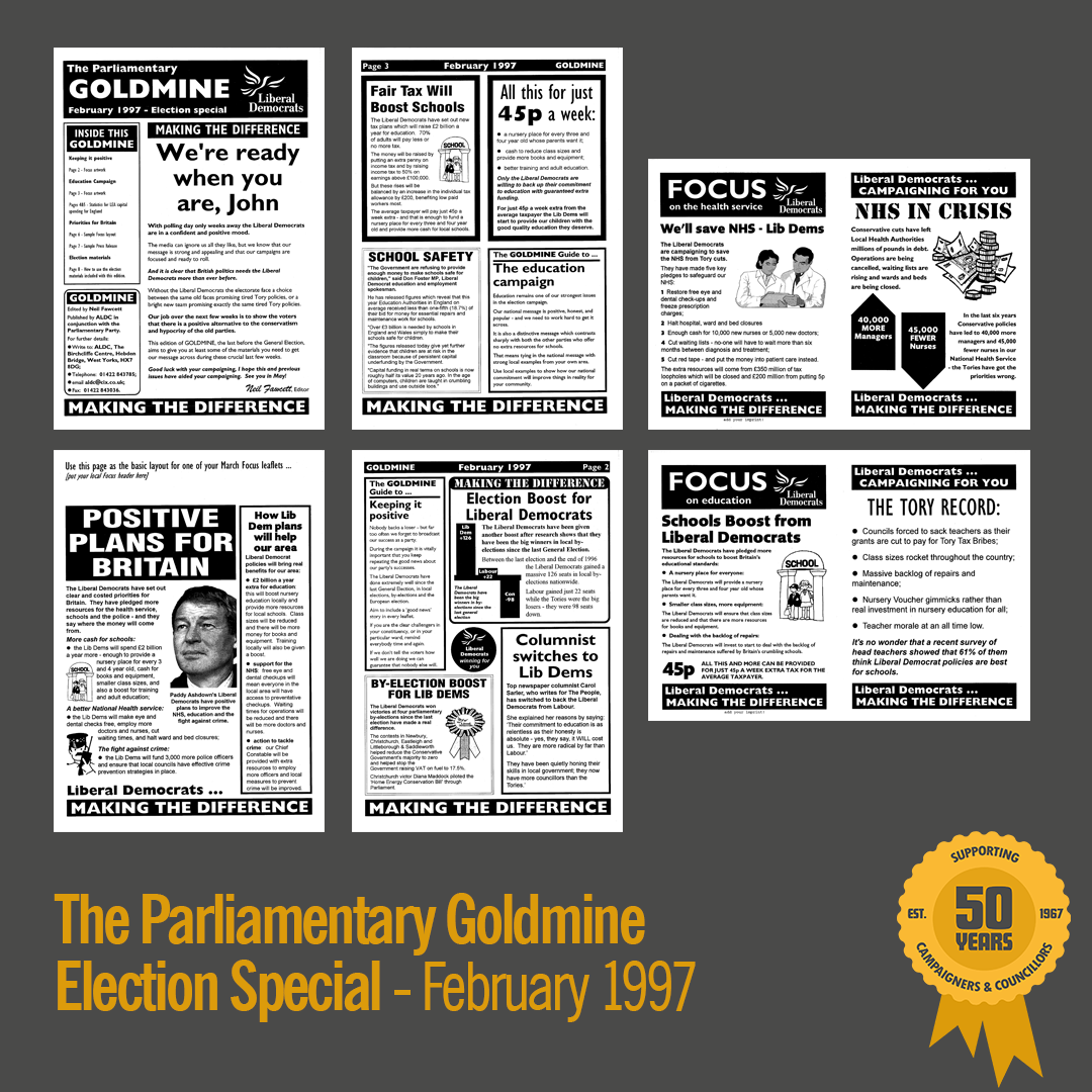 February 1997: PARLIAMENTARY GOLDMINE