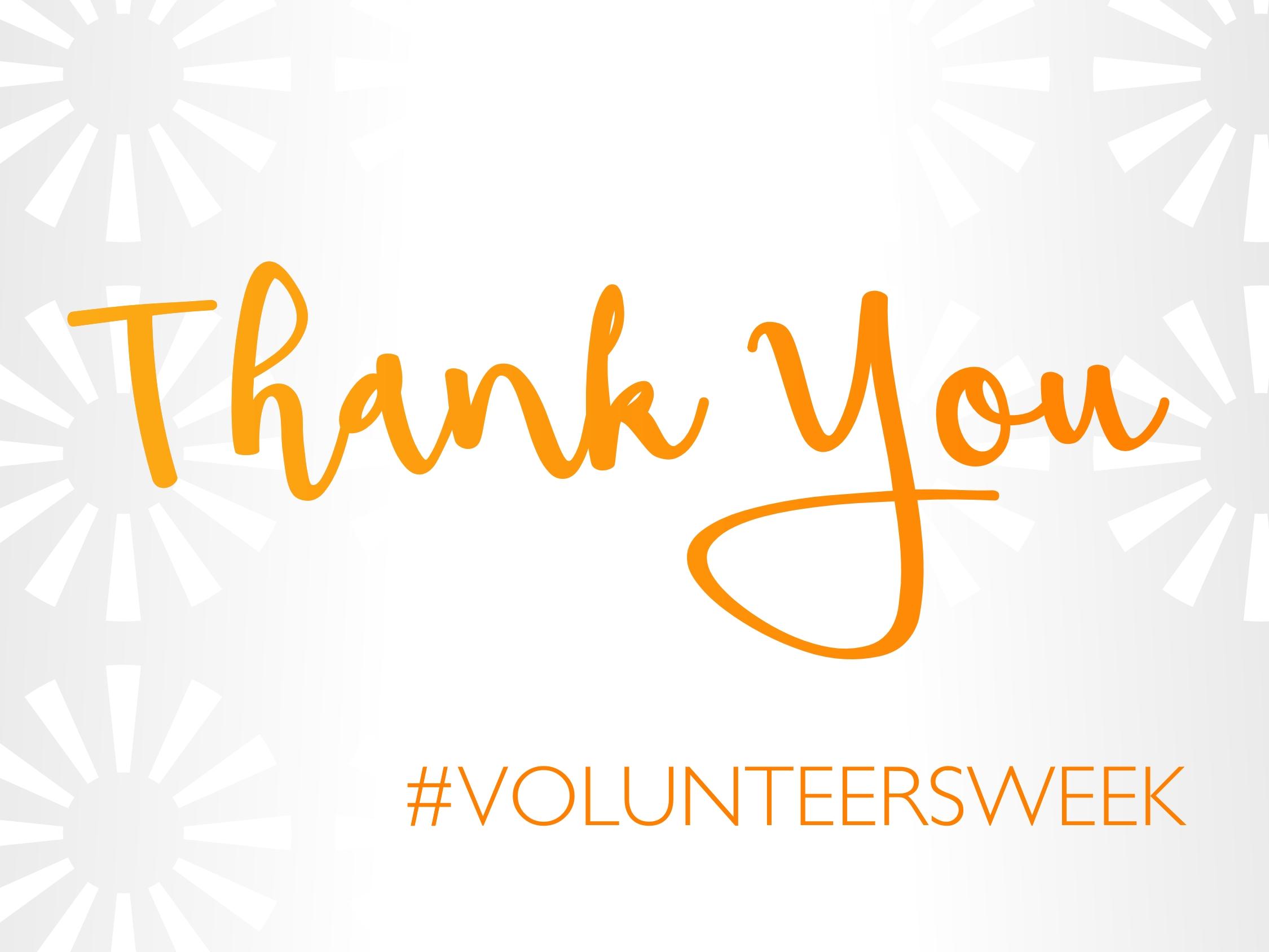 National Volunteers' Week 2017