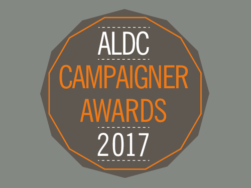 ALDC Campaigner Awards 2017 – nominations open (closing 25 August)