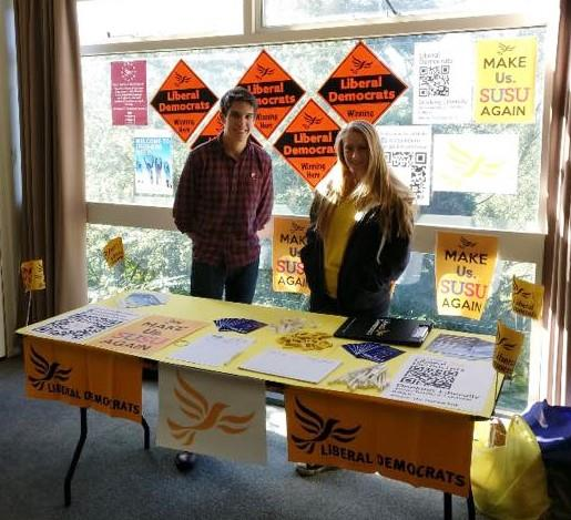 Young Liberals' plans for Freshers' Week