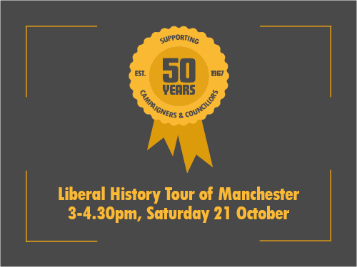Liberal History Tour of Manchester