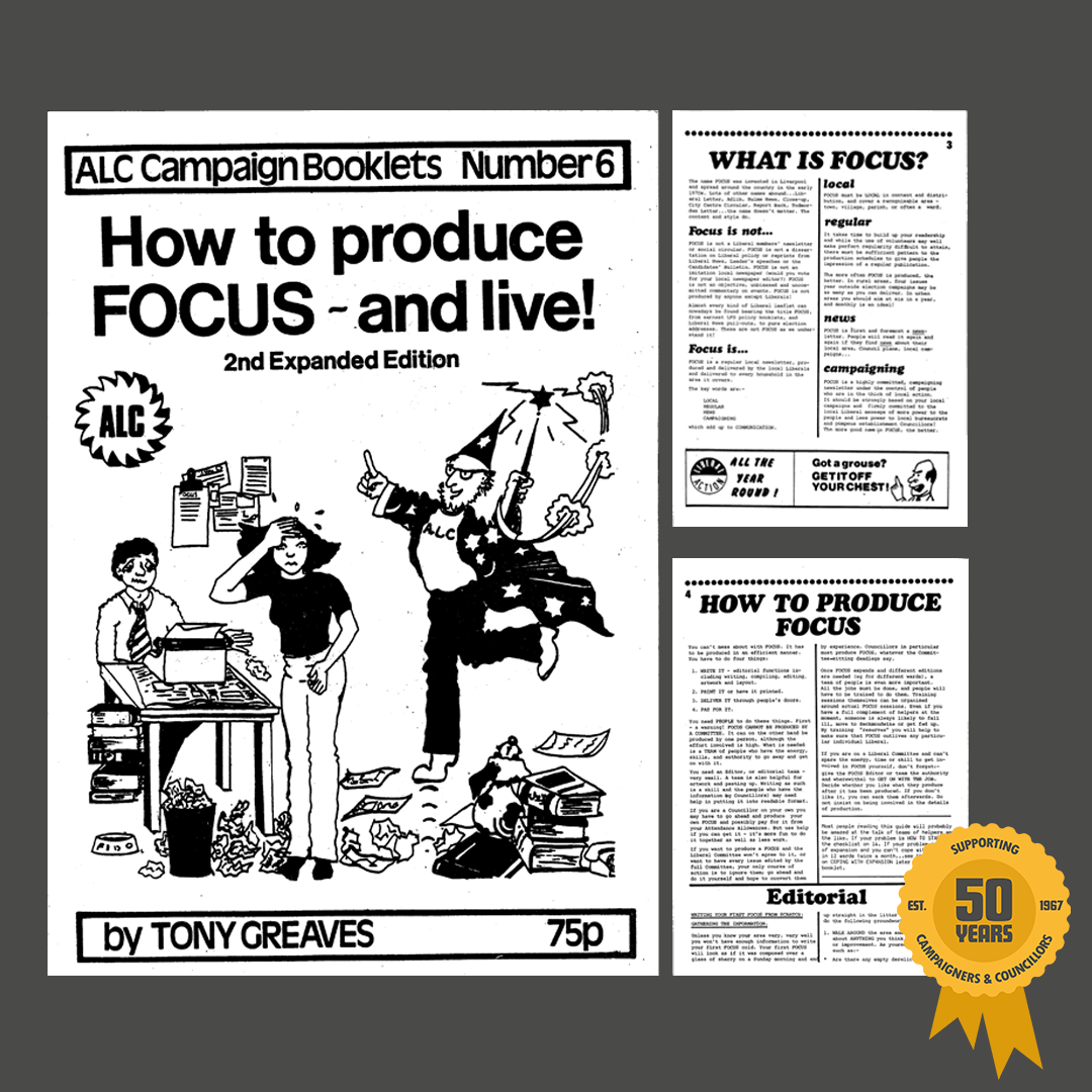 September 1981: How to produce FOCUS – and live!