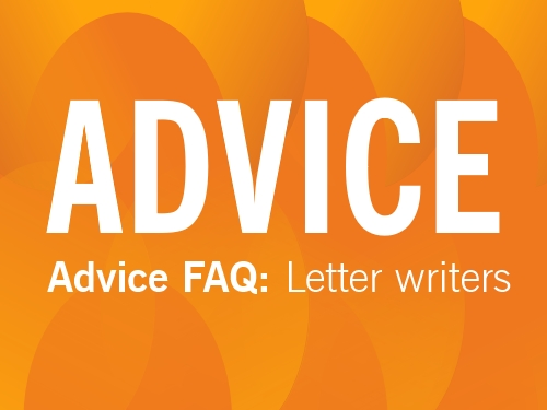 ADVICE: A guide to letters to editors