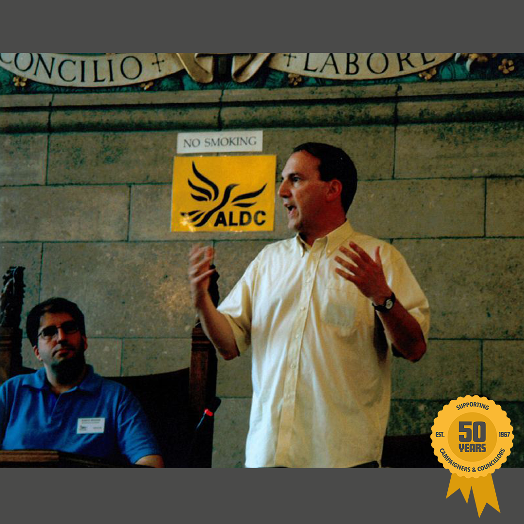 From 2000, Sir Simon Hughes speaking in Manchester