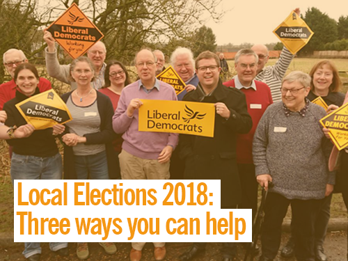 Local elections 2018 – how you can help