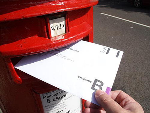 ADVICE: Getting out your postal vote this May