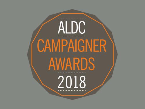 ALDC Campaigner Awards 2018: Nominations Open