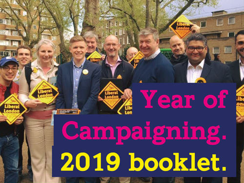 Year of Campaigning 2019 – planner and brochure