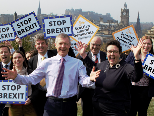 European campaign kicking off in Scotland