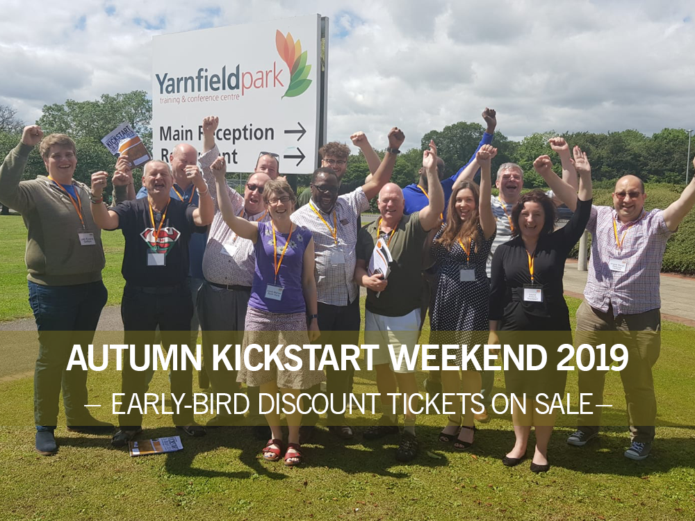 Autumn Kickstart Weekend: 22-24 November