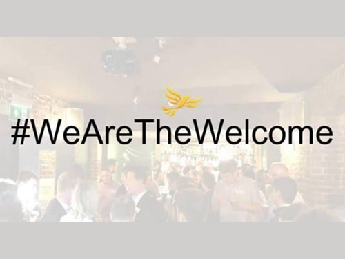 Newbies Lib Dem Pint event at conference, 13 September