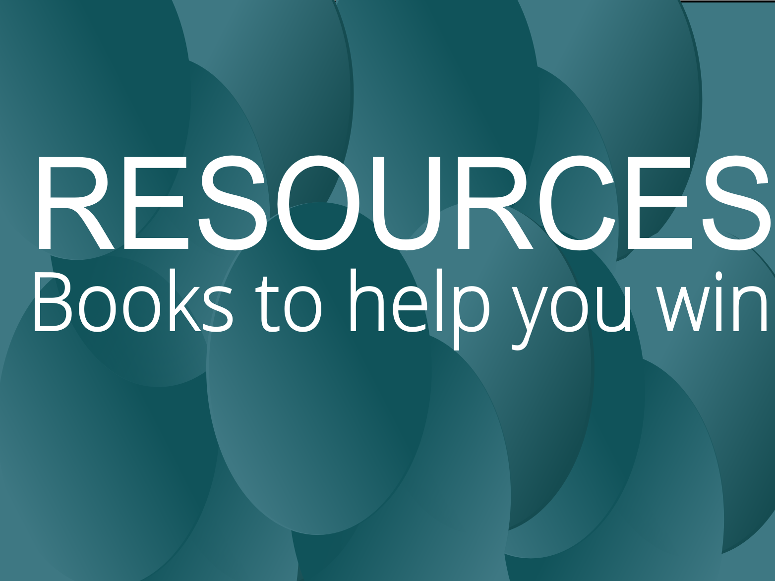 Resources: Books to help you win