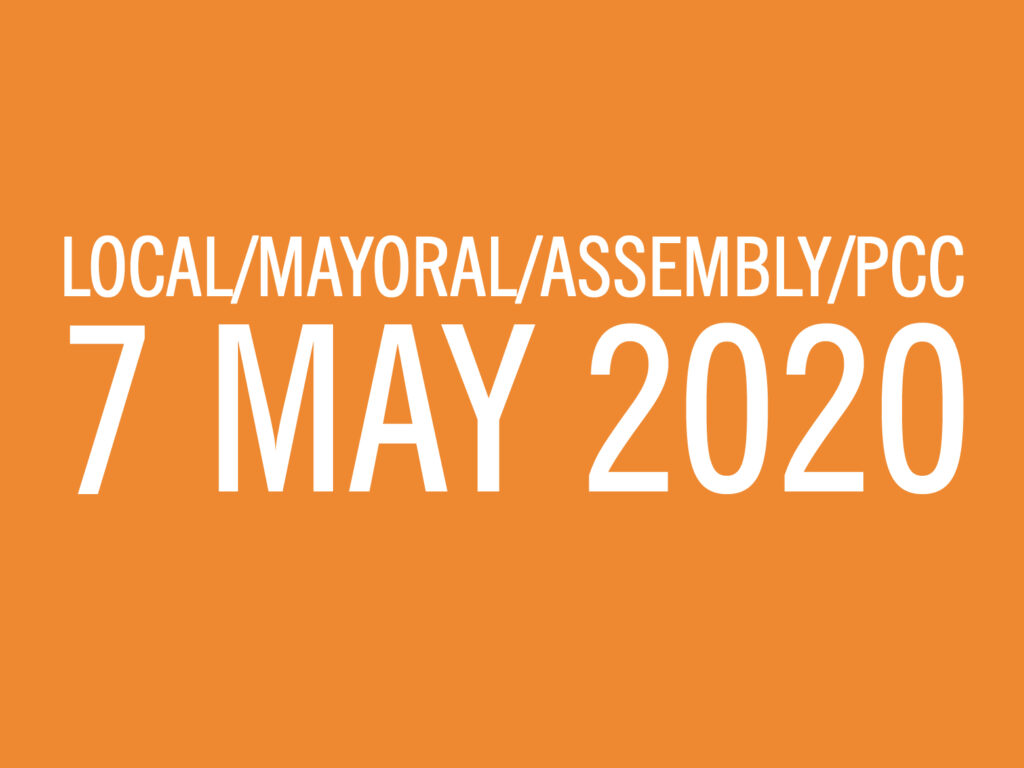 Local Mayoral Assembly PPC elections 7 May 2020