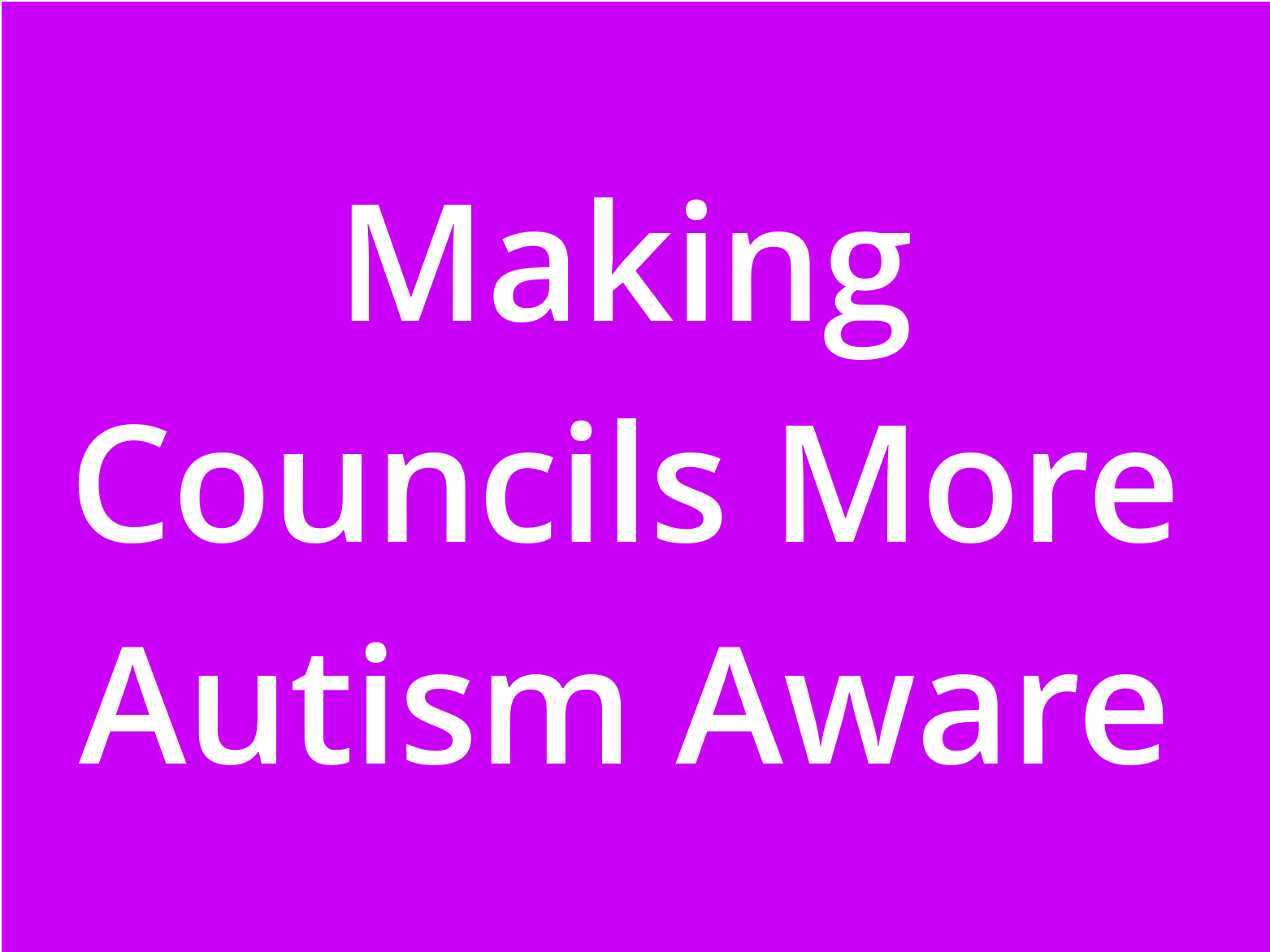 Council Motion: Rethinking Adult Autism Strategy