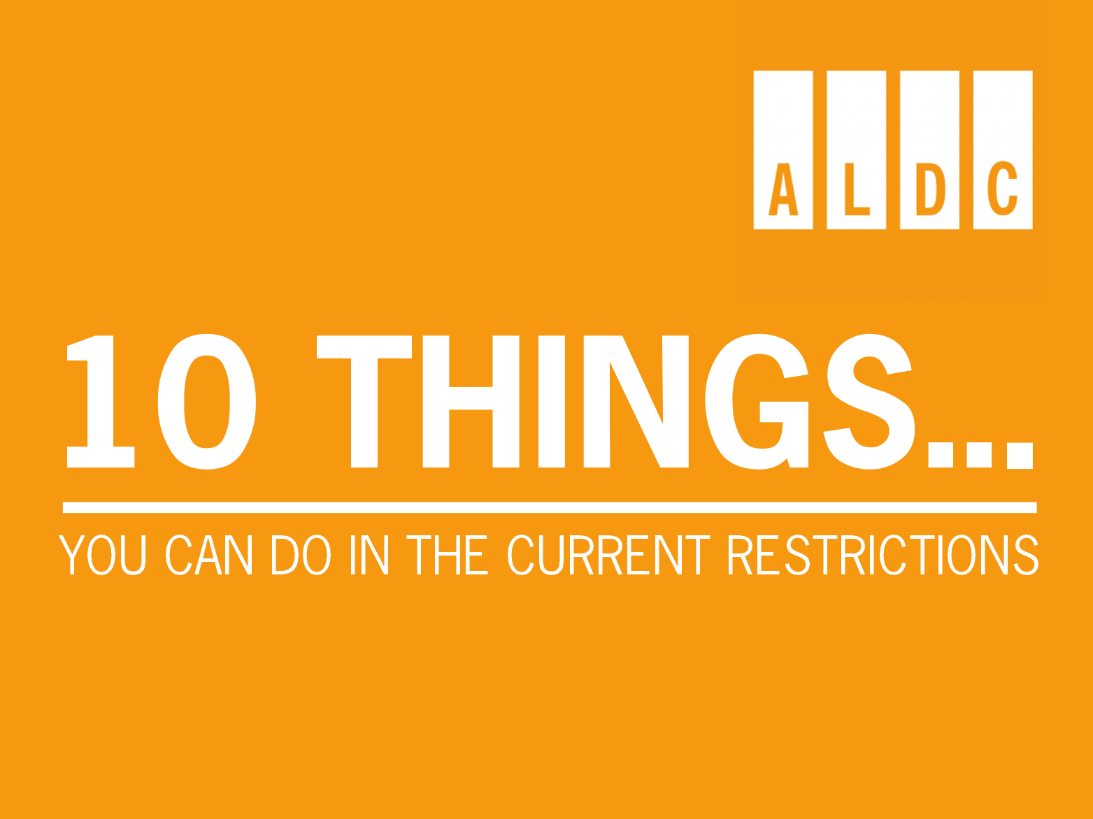 10 Lib Dem things you CAN do in the current restrictions