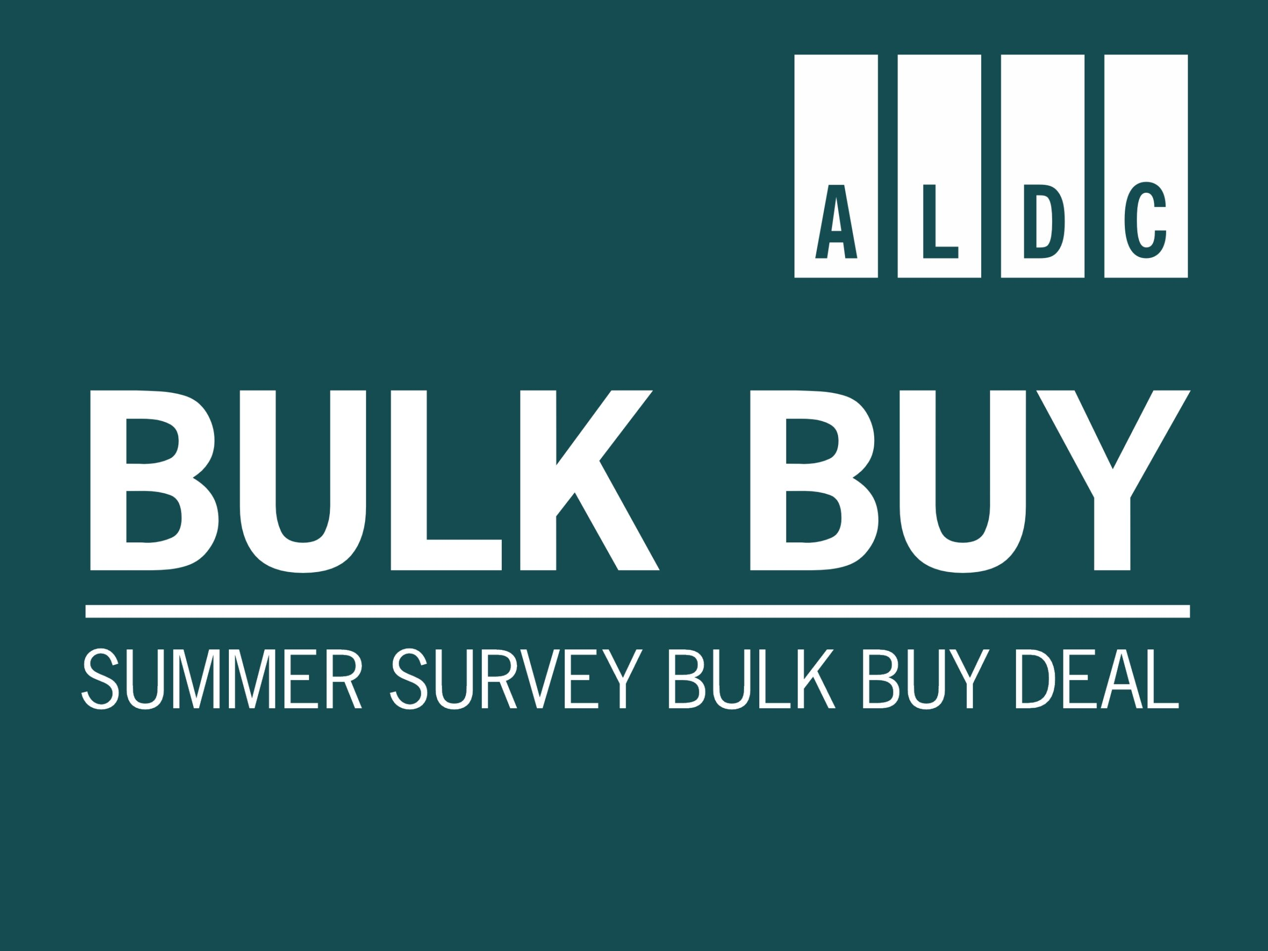 Updated: Sign up for our Summer Survey bulk buy – new deadlines.