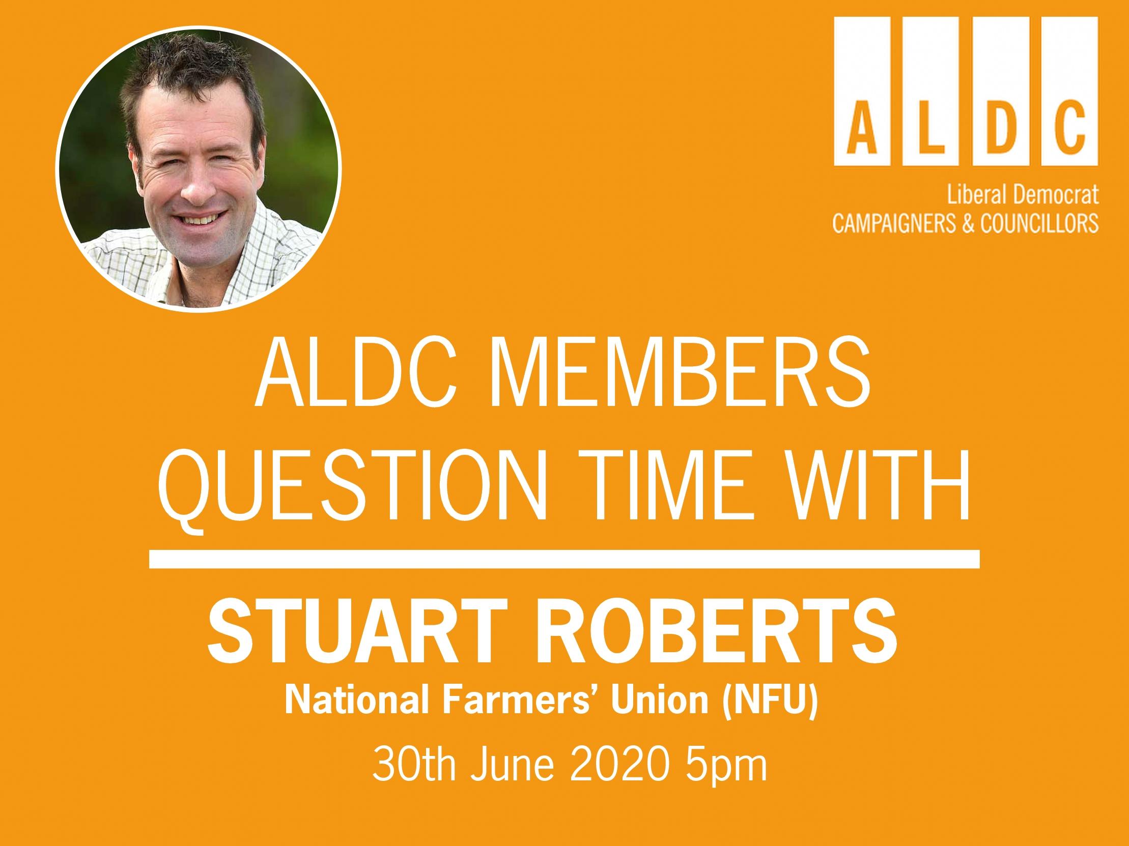ALDC Question Time – National Farmers Union 30 June 2020