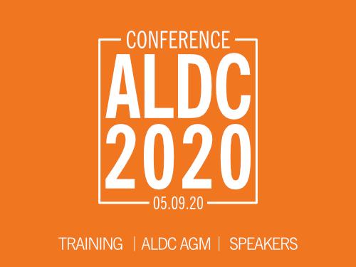 ALDC Conference Sat 5 Sept 2020