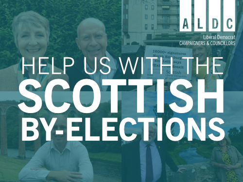 Support our Scottish By-Election Teams