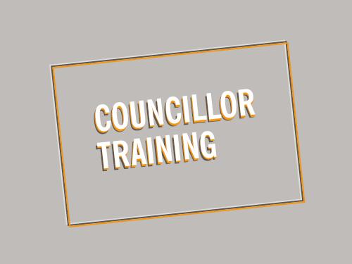 Councillor training