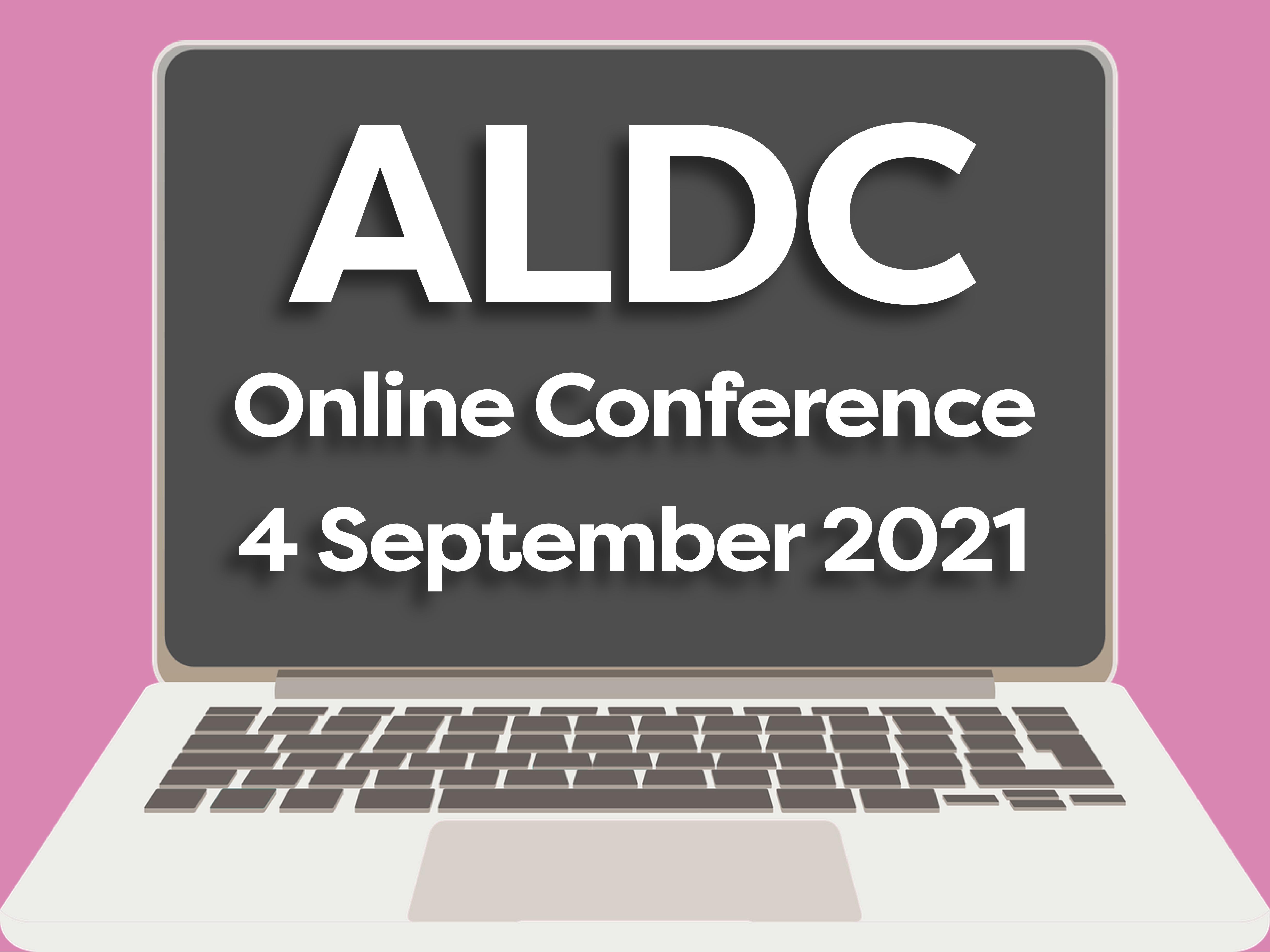 ALDC Online Conference – Sat 4 September 2021