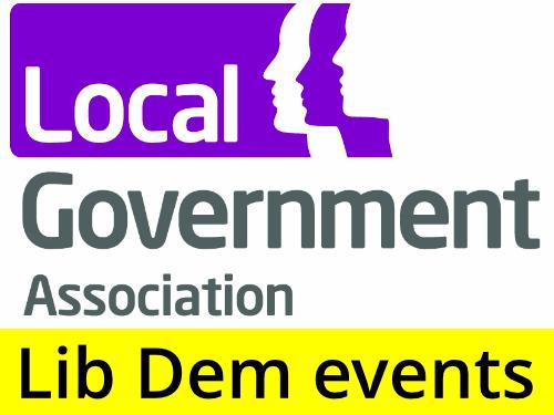 Upcoming Events from LGA Lib Dems