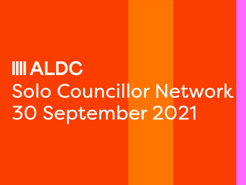 Join our Solo Councillor network