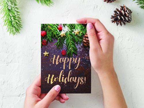Calendar and Christmas Card Templates